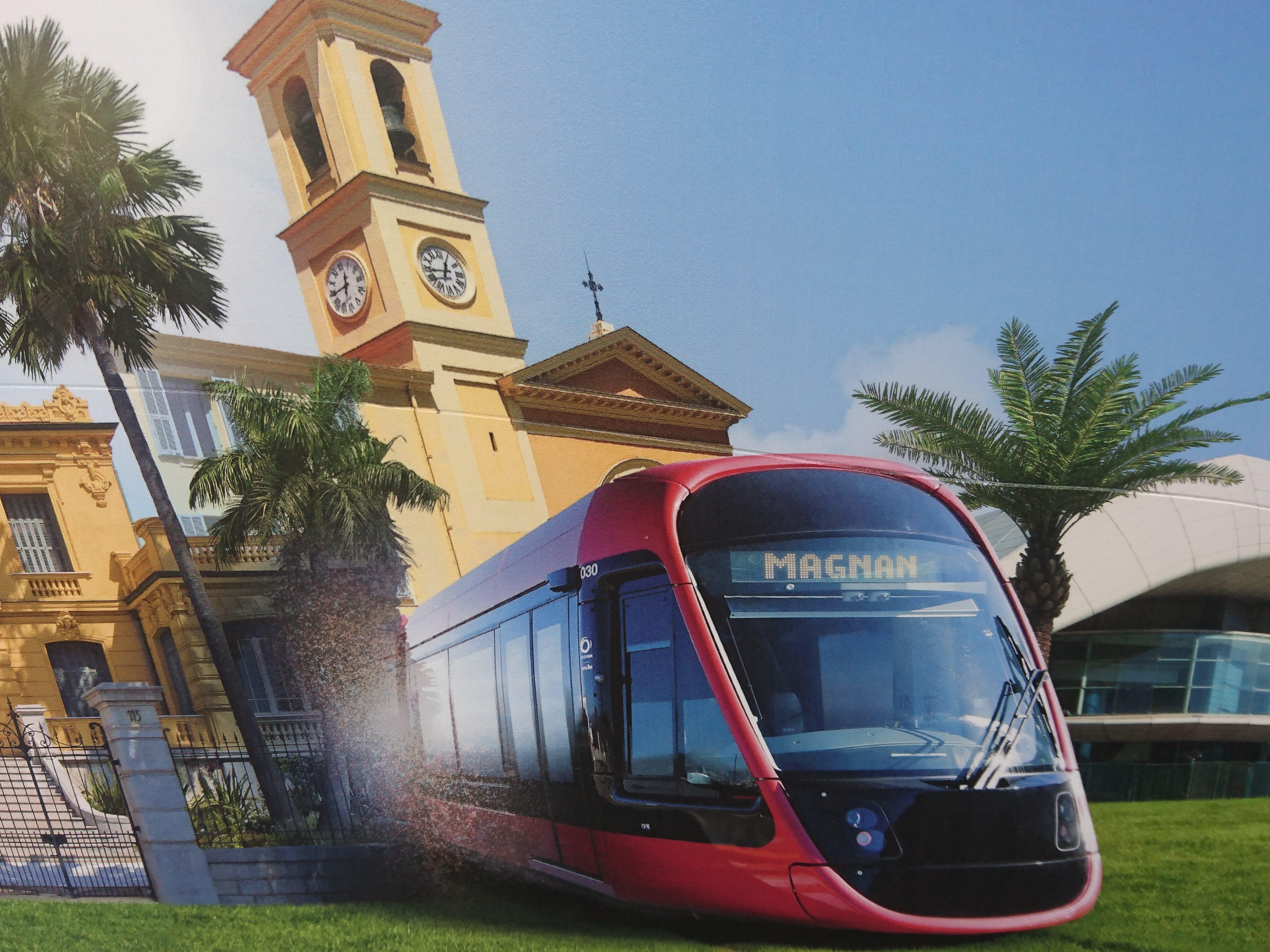 VIDÉO Revivez la 1ère arrivée du nouveau tram de Nice à Magnan