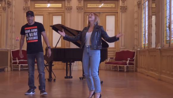 VIDÉO Découvrez le clip de Kaotik 747 et Priscilla Betti, tourné à l'Opéra de Nice