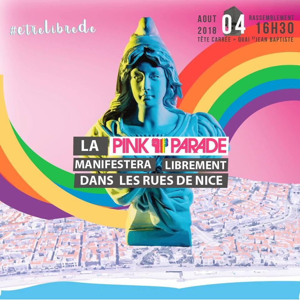 LGBT La Pink Parade défilera librement dans les rues de Nice, ce samedi